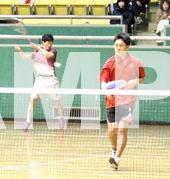 明和ソフトテニスインドア大会1