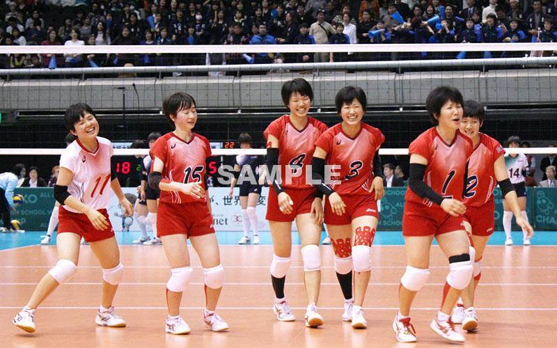 県強化指定チーム三重高女子バレーhs