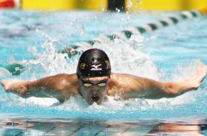 県総体水泳プレー