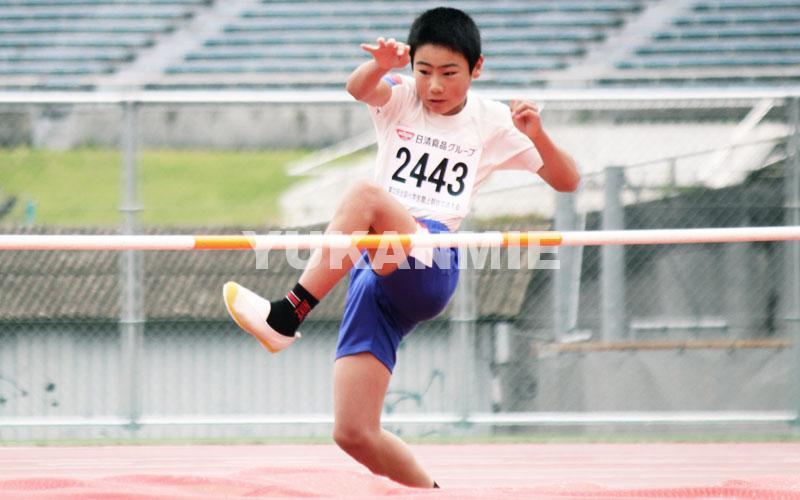 小学生陸上走り高飛びhp