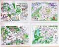 高橋さんのウオーキングマップ