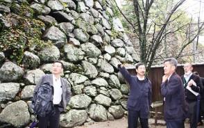 松坂城跡の整備検討