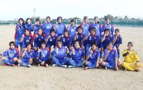 女子サッカー集合