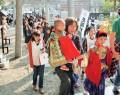 花岡神社の稚児行列