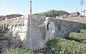 石工の磯田さん