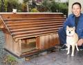 豪華な犬小屋