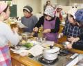 飯南の給食体験教室