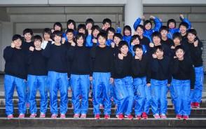 高校バレー女子集合