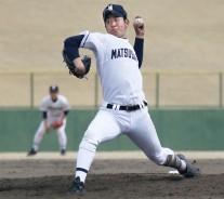 高校野球・松阪投手