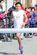 マラソン・中田選手