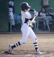 学童野球・梶川投手の打撃