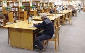 嬉野図書館が大変