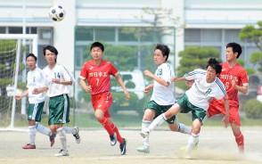 高校サッカー_松阪×四日市工