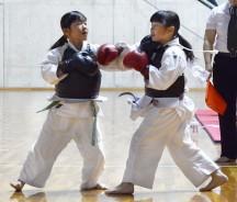 拳法、小3女子_曽野さんら
