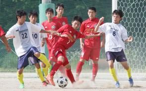 高校サッカー・松工vs三重