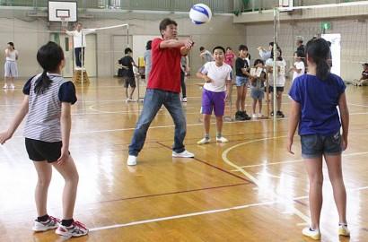 揥水親子球技大会