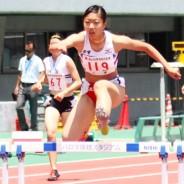 高校総体・陸上女子400mH生駒