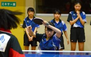 中体連女子卓球