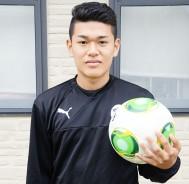 ドイツでサッカーする堀選手