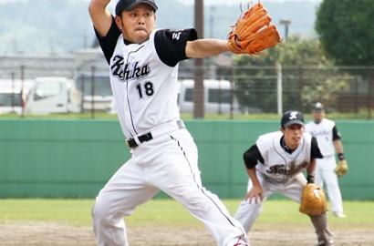社会人ソフト夏季大会市予選・橋本投手