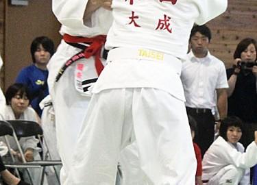 東海総体柔道・瀬古選手