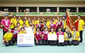 高校総体ソフトテニス女子