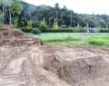 広陽公園の土砂