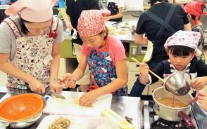 多気、山の神、親子料理教室
