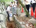 松坂城跡の発掘