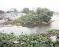 台風で堤防が…