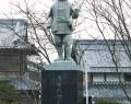 滋賀県の氏郷像