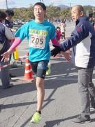 多気マラソン中学男子