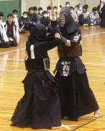 中学剣道・準優勝・粕谷