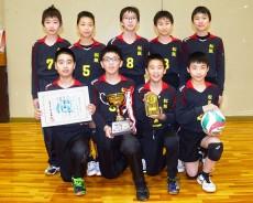 市長杯・優勝の松阪JVC