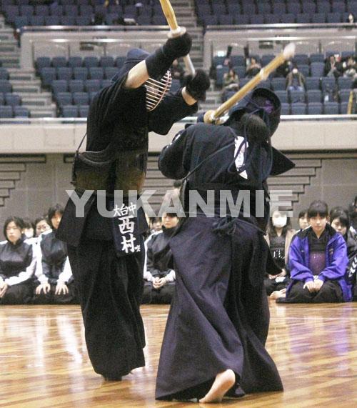 剣道・女子決勝_西村