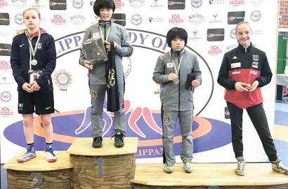 中西美結さんがレスリング世界大会で3位