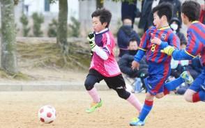 市協会長杯・少年サッカー_プレー