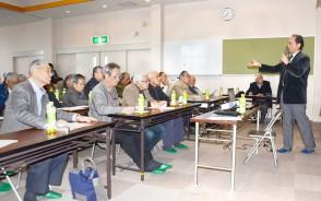 松老連で北畠の講演