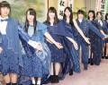 松阪木綿のドレス