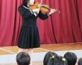 鎌田幼でバイオリン