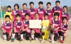 少年サッカーJA杯準v松ケ崎
