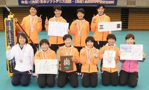 180331三重高女子ソフトテニス2連覇