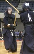 高校剣道・男子・熊沢選手
