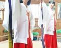 三瀬谷神社で春の祭り