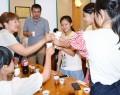 台湾の生徒と交流