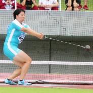陸上県、女子ハンマー・濵田選手