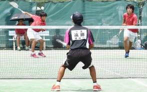 中体連ソフトテニス
