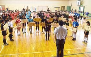 夕刊三重バレー開会式