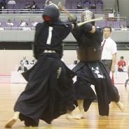 インハイ剣道・囲み