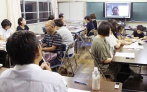 松江小で市長と語る会